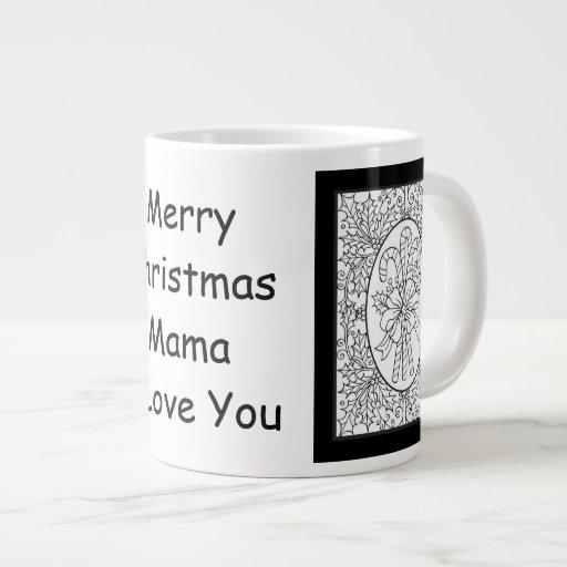 Mamá Christmas Jumbo Mug Taza Grande