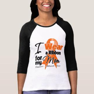 Mamá - cinta de la leucemia camisas