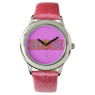 Mamá colorida relojes