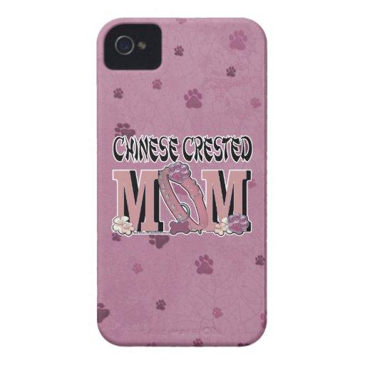 MAMÁ con cresta china iPhone 4 Case-Mate Protector