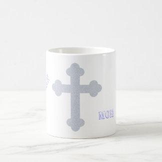 Mamá cristiana tazas de café