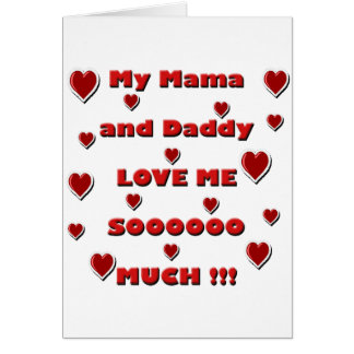 Mama & Daddy Love copy.png Greeting Card