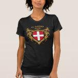 Mamá danesa del número uno camisetas