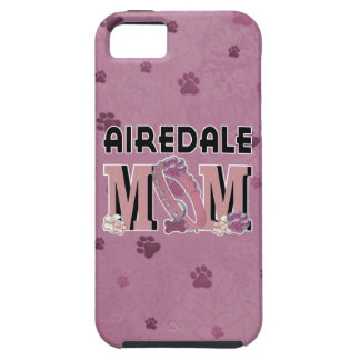 MAMÁ de Airedale iPhone 5 Fundas