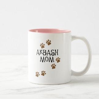Mamá de Akbash Taza Dos Tonos
