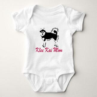 Mamá de Alaska de Klee Kai Body Para Bebé