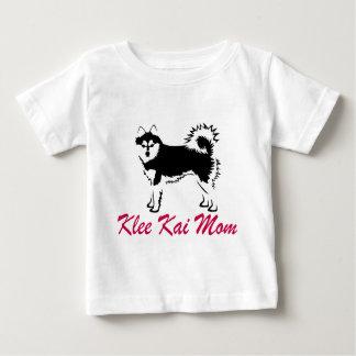 Mamá de Alaska de Klee Kai Playera De Bebé