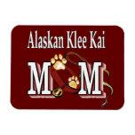 mamá de Alaska del kai del klee Imán