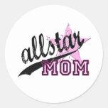 Mamá de Allstar Pegatina Redonda