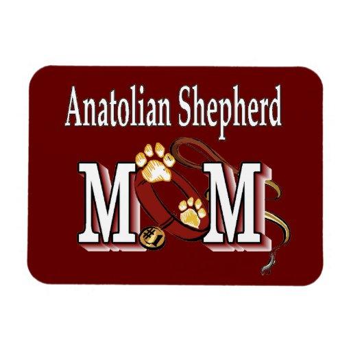 mamá de Anatolia del pastor Rectangle Magnet
