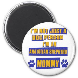 Mamá de Anatolia del perro de pastor Imán Redondo 5 Cm