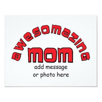 Mamá de Awesomazing (1) Invitacion Personal
