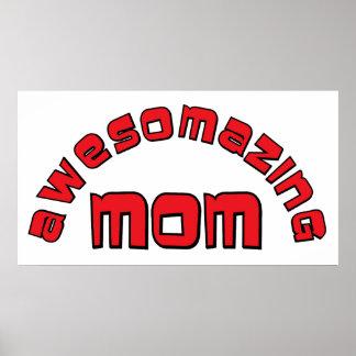 Mamá de Awesomazing 1 Impresiones