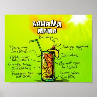 """Mamá de Bahama 11"""" x 8,5"""", papel de poster del"""