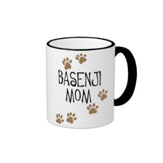 Mamá de Basenji Taza