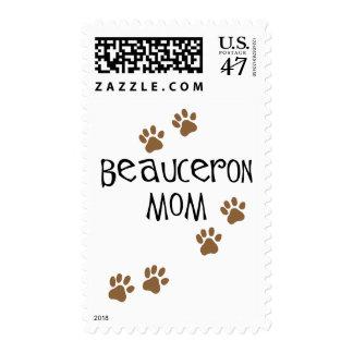 Mamá de Beauceron Sello