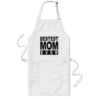 Mamá de Bestest nunca Delantal Largo