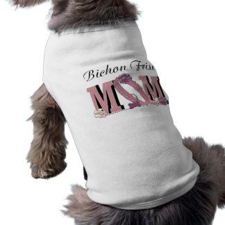 MAMÁ de Bichon Frise Camisa De Perro