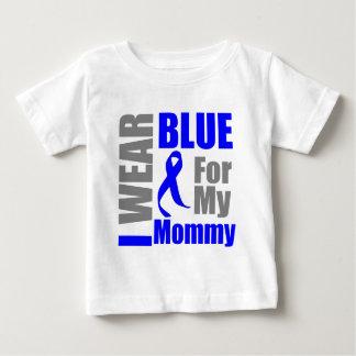 Mamá de Blue Ribbon del desgaste del cáncer de Playeras