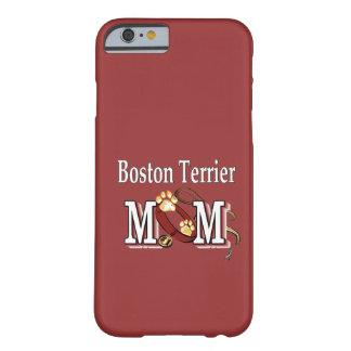 Mamá de Boston Terrier Funda De iPhone 6 Barely There
