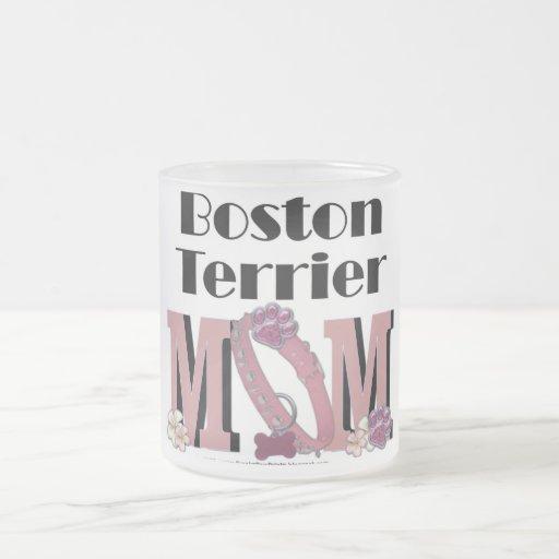 MAMÁ de Boston Terrier Tazas