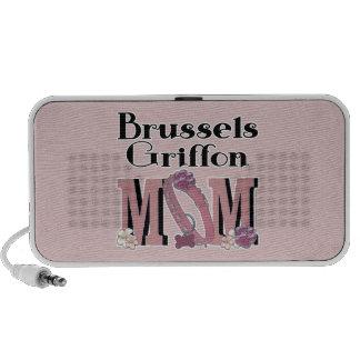 MAMÁ de Bruselas Griffon Altavoces De Viaje