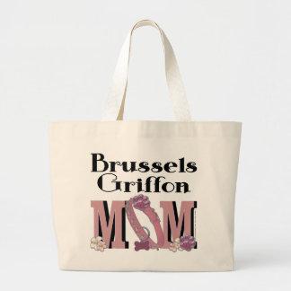 MAMÁ de Bruselas Griffon Bolsa Tela Grande
