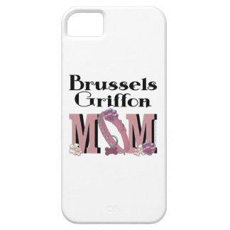 MAMÁ de Bruselas Griffon iPhone 5 Carcasa