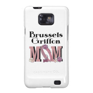 MAMÁ de Bruselas Griffon Samsung Galaxy S2 Carcasa