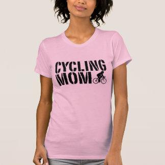Mamá de ciclo playeras