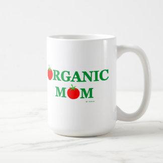Mamá de cocinar o que cultiva un huerto orgánica taza clásica