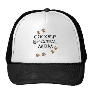 Mamá de cocker spaniel para las mamáes del perro gorras