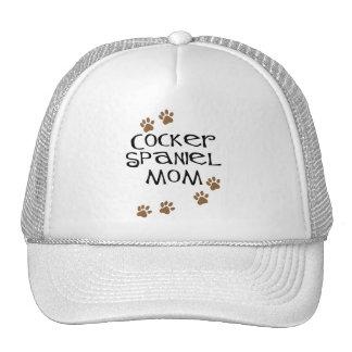 Mamá de cocker spaniel para las mamáes del perro gorro