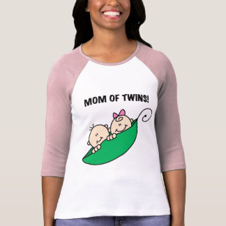 Mamá de Gemelo-Guisantes en camisetas y regalos de Polera