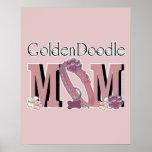 MAMÁ de GoldenDoodle Impresiones