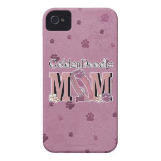 MAMÁ de GoldenDoodle iPhone 4 Case-Mate Carcasas