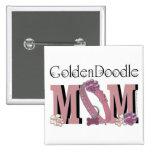 MAMÁ de GoldenDoodle Pins