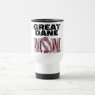 MAMÁ de great dane Tazas De Café