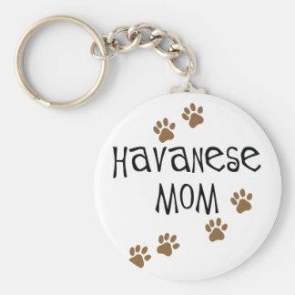 Mamá de Havanese Llavero Personalizado