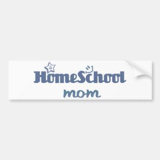 Mamá de Homeschool Pegatina Para Auto