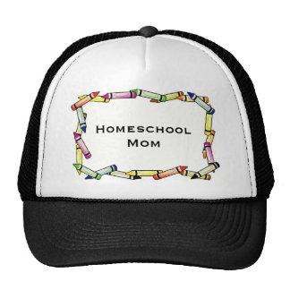 Mamá de Homeschool Gorros Bordados