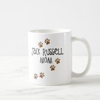 Mamá de Jack Russell Taza De Café