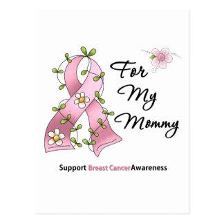 Mamá de la ayuda del cáncer de pecho tarjeta postal