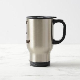 Mama de la cabra tazas de café