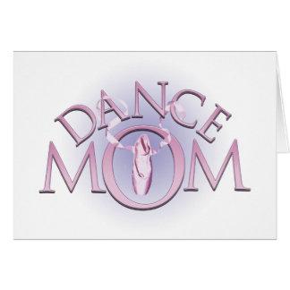 Mamá de la danza felicitacion