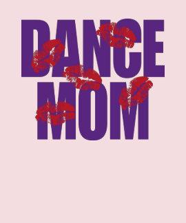 Mamá de la danza camiseta