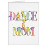 Mamá de la danza tarjetas