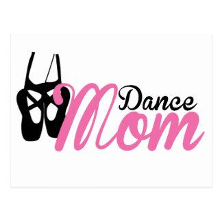 Mamá de la danza tarjetas postales