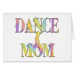 Mamá de la danza tarjeton