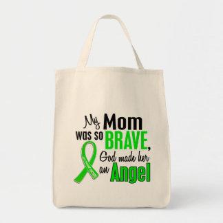 Mamá de la distrofia muscular del ángel 1 bolsa tela para la compra